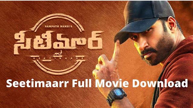 Seetimaarr Full Movie Download Filmywap Moviesda (480p, 720p)