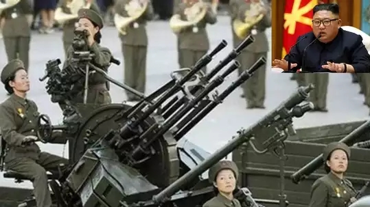 Kim Jong-un deployed anti-aircraft gun on China border
