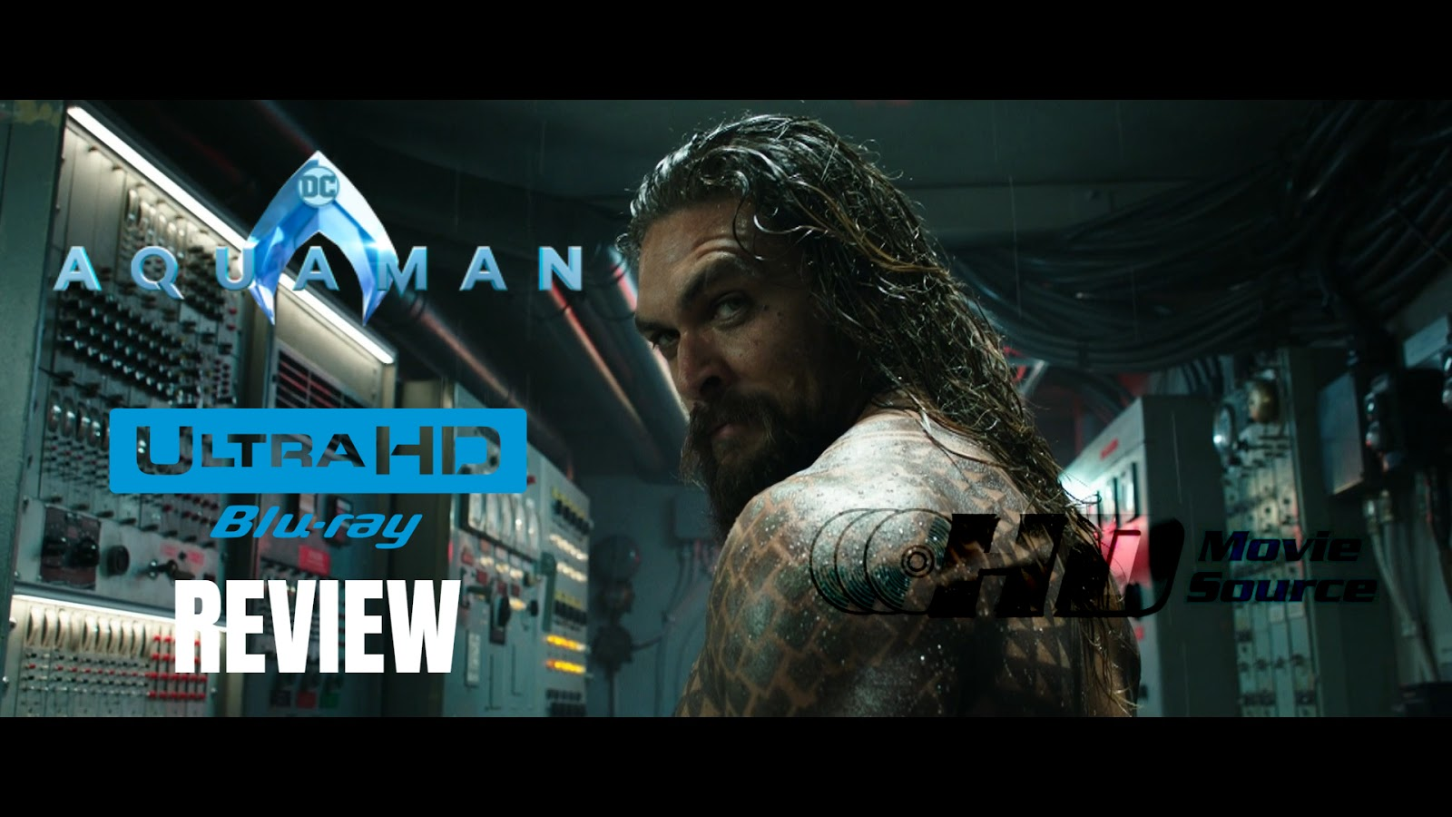 Aquaman 4K Ultra HD Blu-ray Blu-ray Review