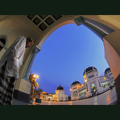 Masjid Raya Al-Mahsun Medan, dalam aplikasi 360 VR