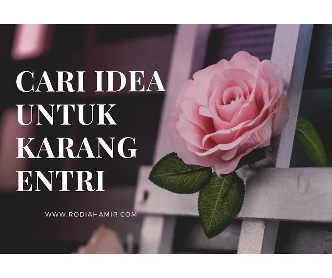 4 Cara Mudah Cari Idea Untuk Karang Entri