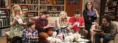 Séries que eu andei assistindo ao longo desse ano.  - The Big Bang Theory
