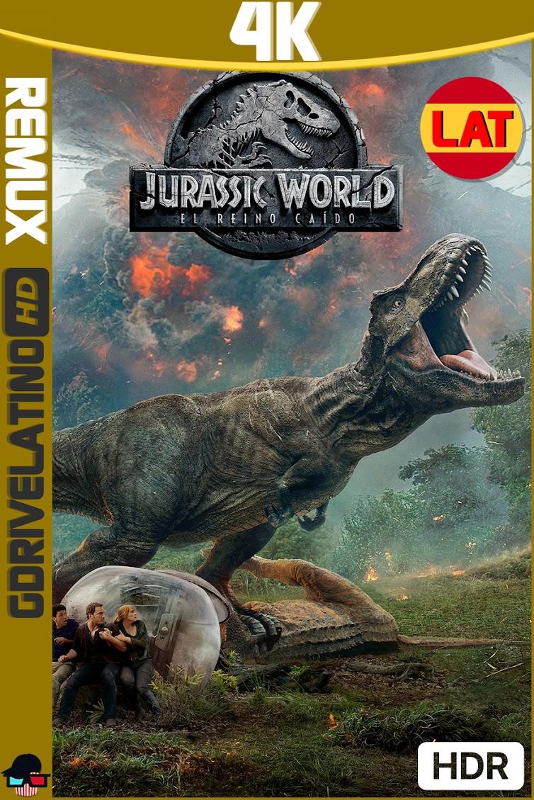 Jurassic World : El Reino Caido (2018) BDRemux 4K HDR Latino-Ingles MKV