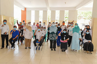 Ditengah Pandemi Covid19, Wagub Berikan Semangat Kepada Nakes di Sumbawa
