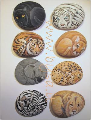 bomboniere animali sassi