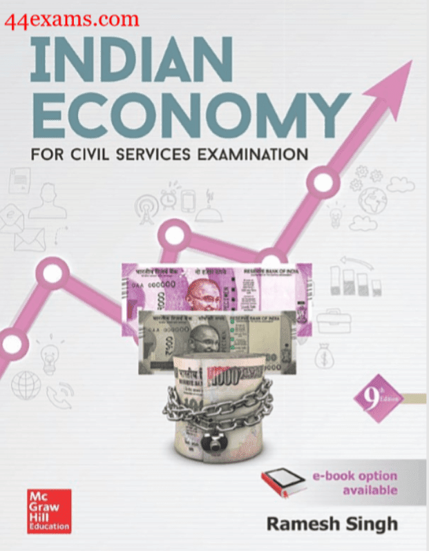 Indian-Economy-9th-Edition-by-Ramesh-Singh-For-UPSC-Exam-PDF-Book