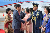Presiden Jokowi Tiba Di Osaka