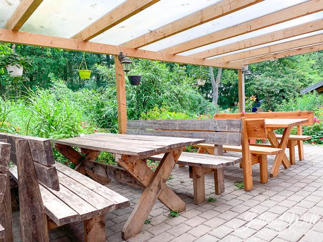 Restaurant Achter´t Holt Damp Terrasse