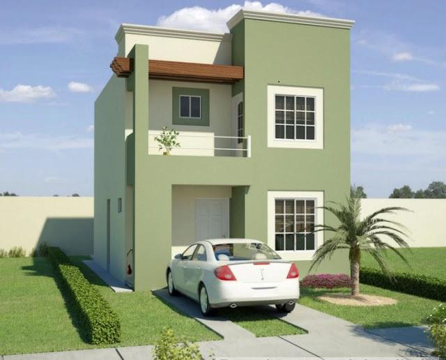 16 Contoh Rumah Minimalis Type 36 2 Lantai Modern Beserta ...