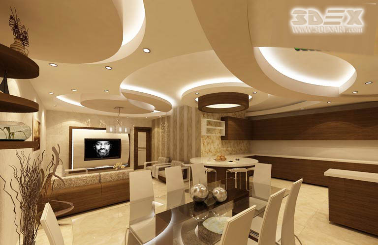 POP Design For Roof False Ceiling Designs For