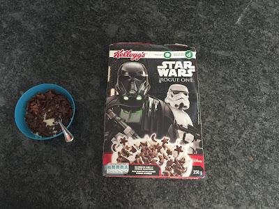 Mon avis le rend gratuit : céréales Kellog's Star Wars en riz soufflé et en forme d'étoiles et de lune