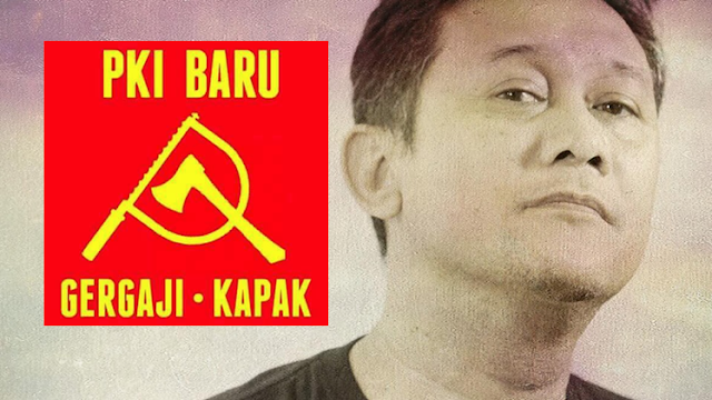Denny Siregar: Ini Logo PKI Baru, Gergaji-Kapak 'PKI GAYA KHILAF'