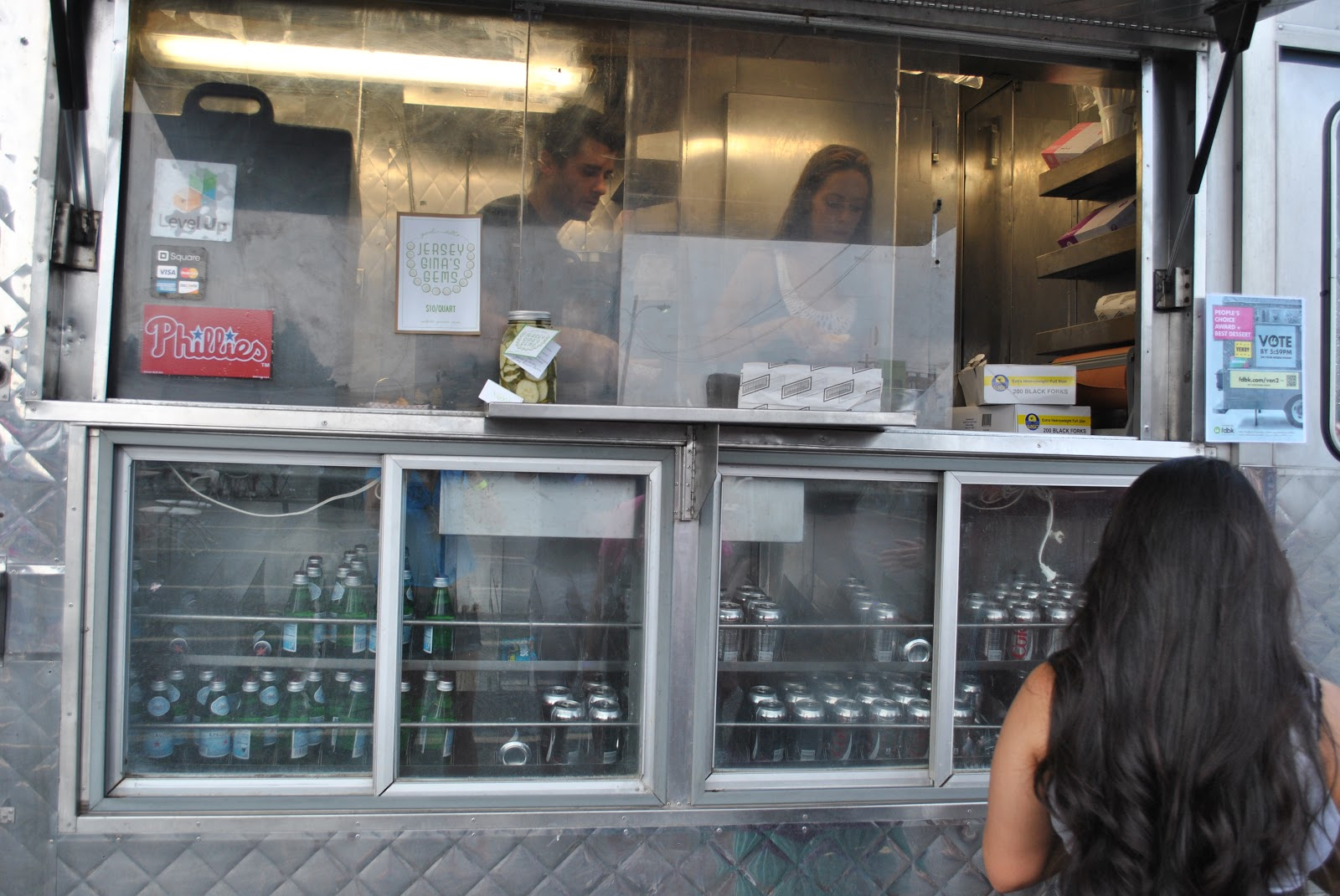 Crave Food Truck Menu