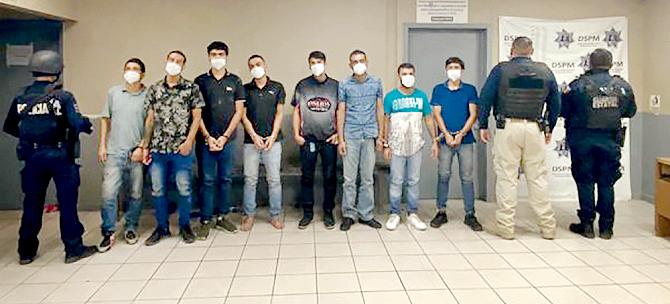 Los 12 Sicarios de Los Chapitos capturados con armamento en Mexicali habían llegado a limpiar la plaza