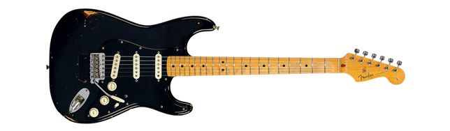 Guitarra Black Strat David Gilmour
