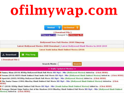 oFilmywap.com- 2020 Bollywood HD Movies Download ofilmywap com