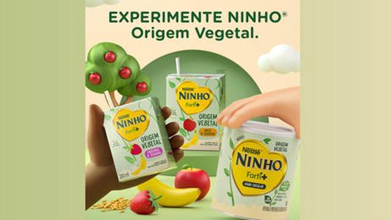Experimente Ninho Forti+ Origem Vegetal
