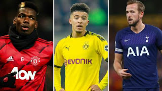 Manchester United set to sell five top players to raise fund for the signing of Sancho and Grealish