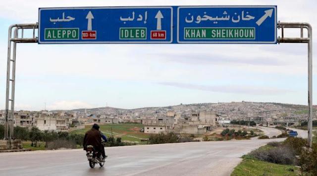 تحرير الشام ترد على الأنباء التي تتحدث عن دخول الجيش السوري لمدينة خان شيخون