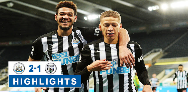 Newcastle United vs West Bromwich Albion – Highlights