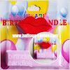 Lilin Ulang Tahun / Ultah Bentuk Bibir
