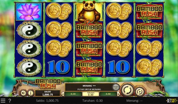 Main Gratis Slot Indonesia - Bamboo Rush Betsoft