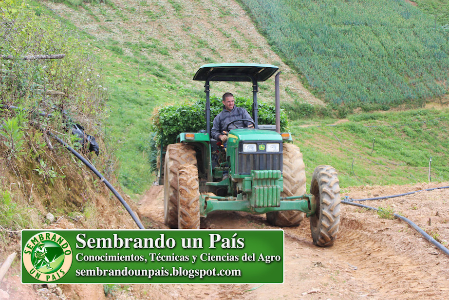 tractor y agricultura