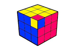 flipped corner on rubik's cube