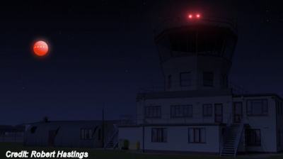 Airtraffic Controllers Track UFO on Radar