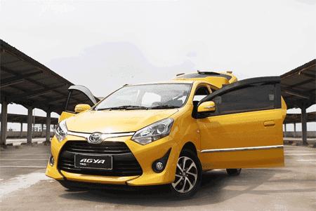 Kredit Toyota Agya 2018 Harga dan Cicilan