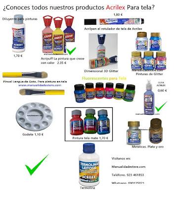 Pincha esta imagen para acceder a dichos productos