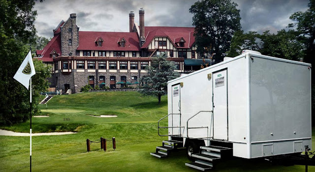 Portable Restroom Trailers:  The Westchester in New York