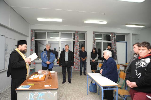 Το Σχολείο Δεύτερης Ευκαιρίας Κρανιδίου έκοψε την πίτα του
