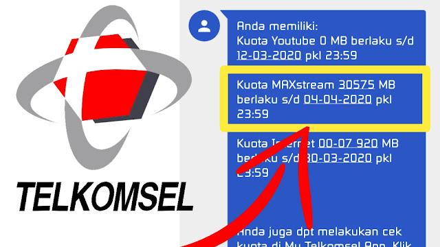 Cara merubah kuota Telkomsel Maxstream Jadi Flash Terbaru 2020