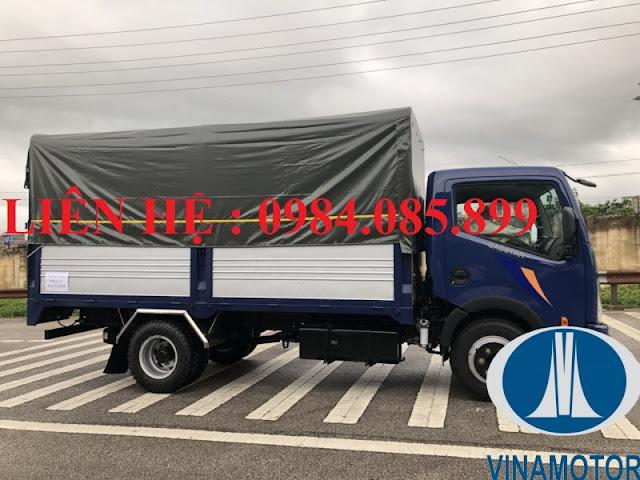 Xe tải cabstar ns350 thùng bạt