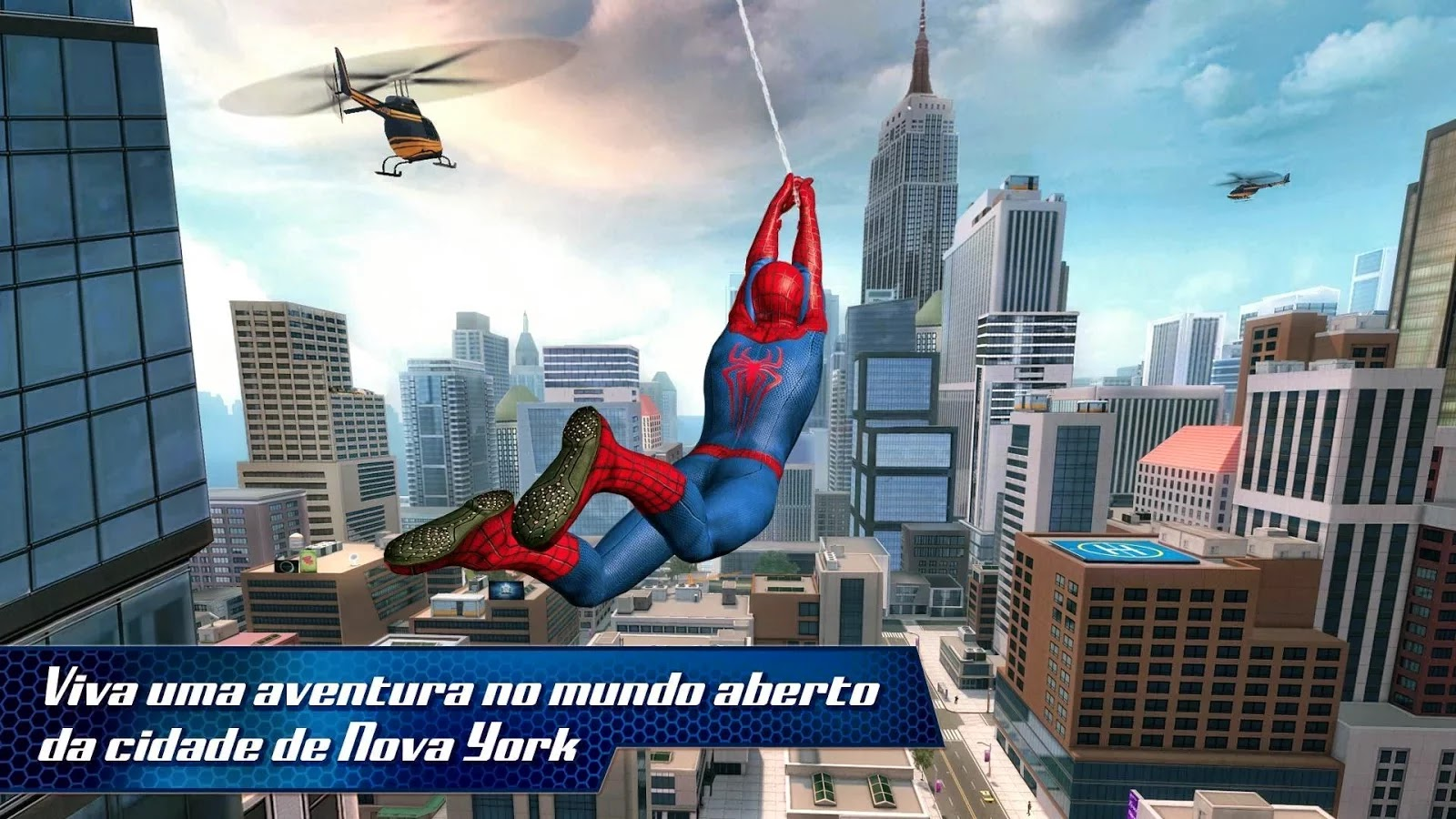 скачать игру новый человек паук 2 на андроид