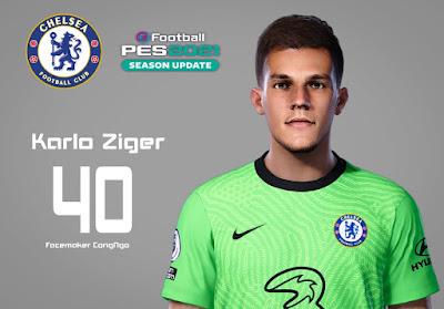 PES 2021 Faces Karlo Ziger by CongNgo