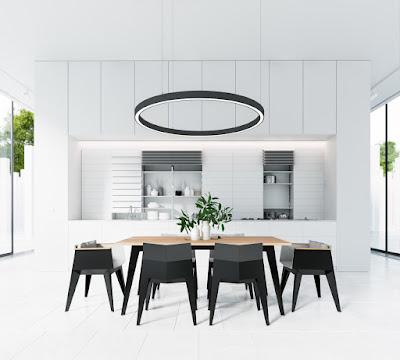 50 Desain Ruang Makan Mewah, Modern Nan Elegan