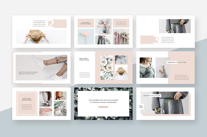 An Elegant & Eye Catching Powerpoint Presentation Template