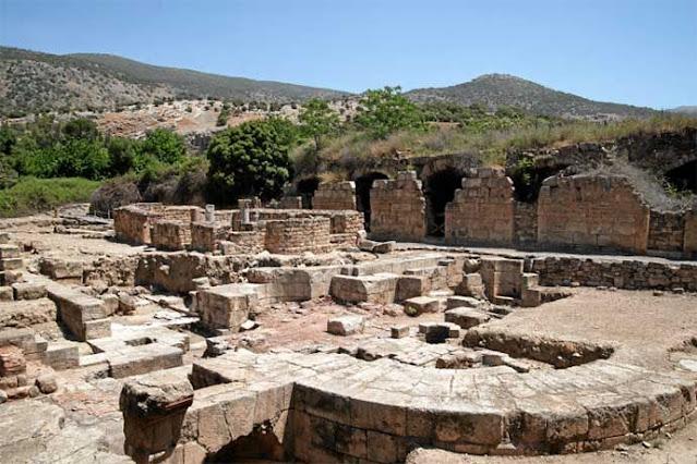 Дворецът на Ирод Агрипа II в Кесария Филипова (Нерония)