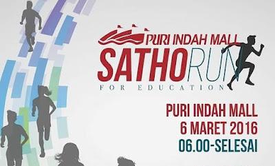 SathoRUN 2016 Jakarta, Gereja Santo Thomas Rasul Kembangan mall puri indah