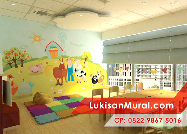 Lukis dinding kamar anak