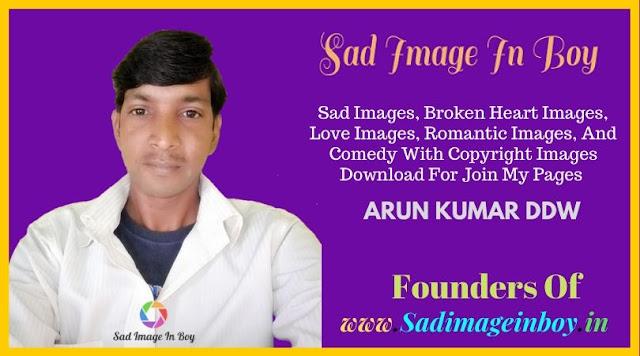 Sad Image In Boy
