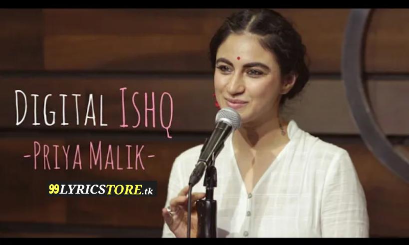 Digital Ishq –Priya Malik | Joshua Thomas | Spill Poetry , YouTube's poetry