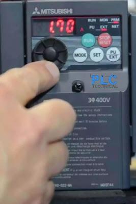 amperage motor Mitsubishi D700