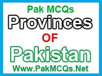 provinces of pakistan, provinces of pakistan mcqs, general knowledge