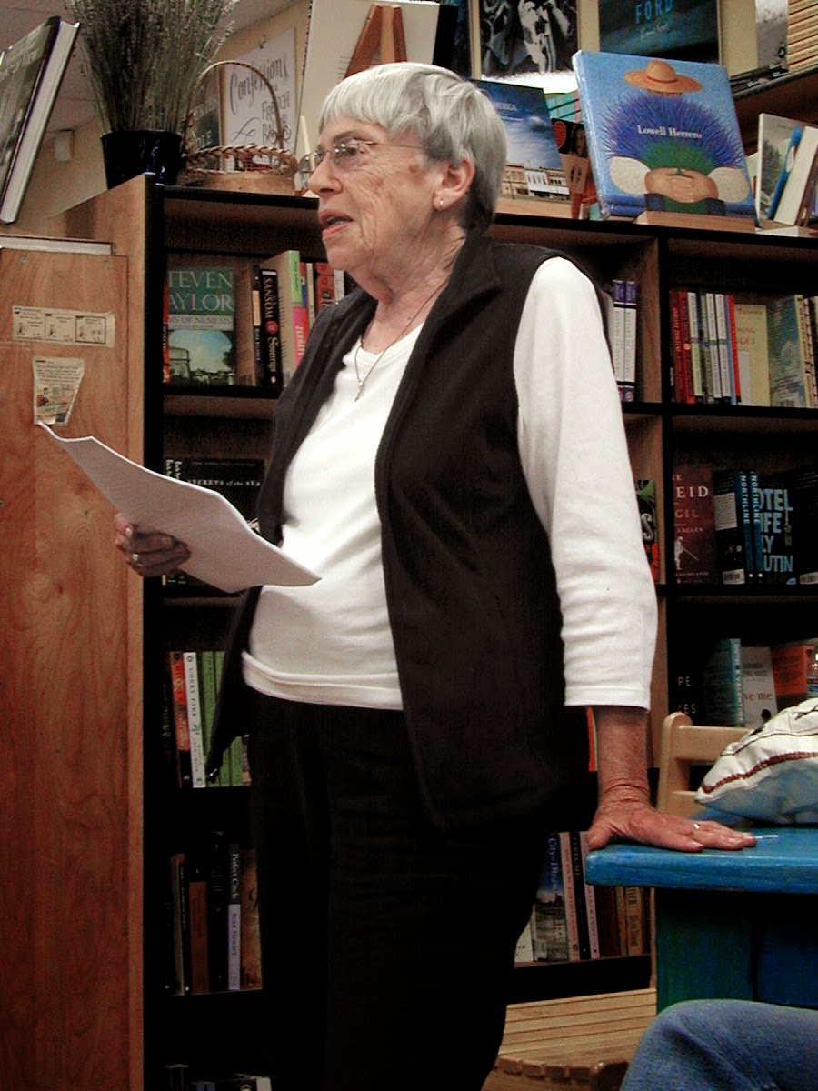 Photo of Ursula K. Le Guin.  Source: http://upload.wikimedia.org/wikipedia/commons/6/6d/Ursula_K_Le_Guin.JPG