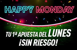 sportium Happy Monday Sin Riesgo 9 diciembre 2019