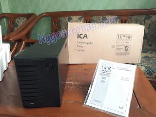 Review UPS ICA CE 1200 - Nggone Ronan
