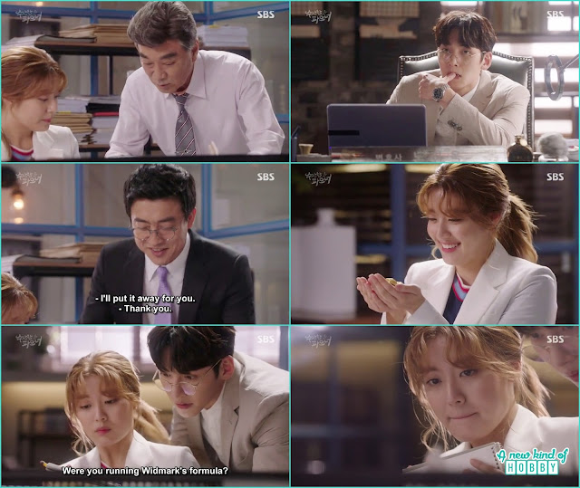 bong hee become the eye candy in the office as she took chairman byung case -  Suspicious Partner: Episode 17 & 18 korean Drama